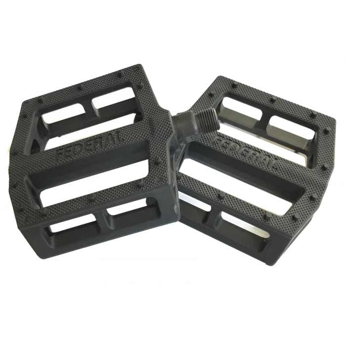 FEDERAL CONTACT PLASTIC PEDALS BLACK