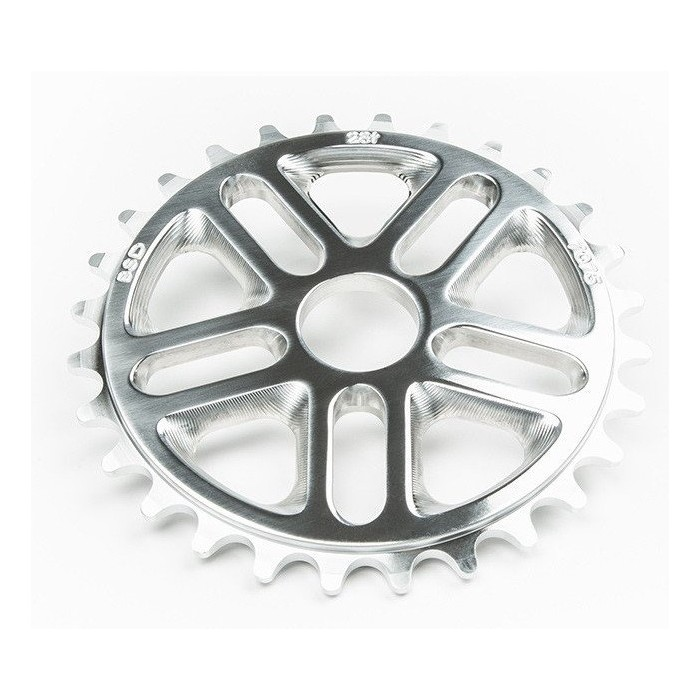 BSD Superlite 3D Sprocket 25T CHROME