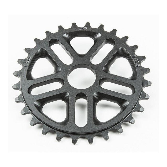 BSD Superlite 3D Sprocket 25T BLACK