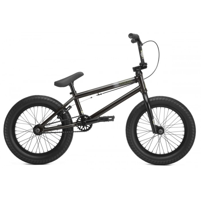 "KINK BMX CARVE 16"" CLEAR BLACK 2019"