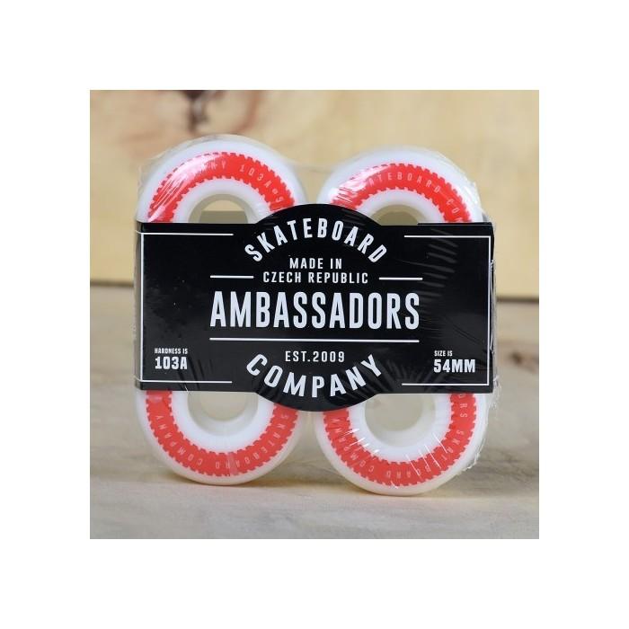 Ambassadors Snake Wheels 54mm