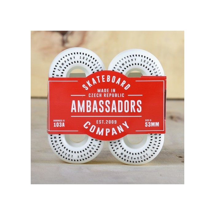 AMBASSADORS SHARK SHAPE WHEELS 53MM