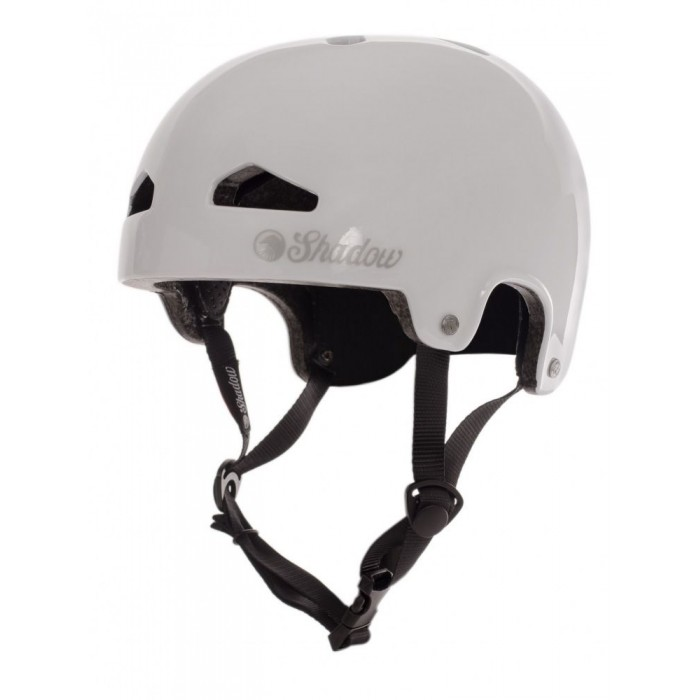 SHADOW FEATHERWEIGHT HELMET IN-MOLD GLOSS WHITE