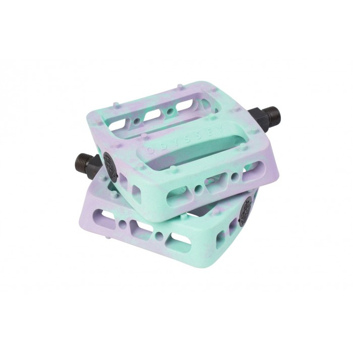 ODYSSEY TWISTED PRO PEDALS LAVENDER TOOTTHPASTE SWIRL