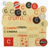 CINEMA ASSORTED STICKER SET