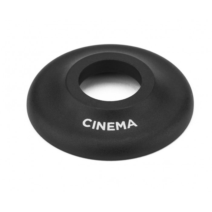 CINEMA CF FRONT HUB GUARD BLACK