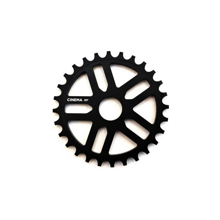 CINEMA REWIND 28T SPROCKET BLACK