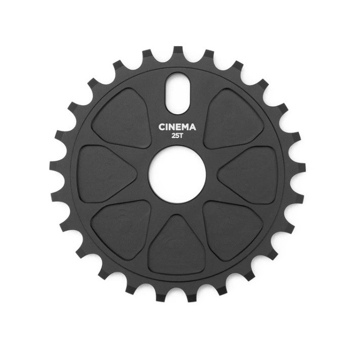 CINEMA ROCK SPROCKET 25T BLACK
