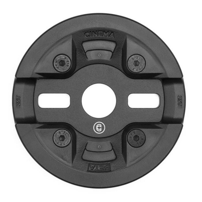 CINEMA BETA GUARD SPROCKET 25T BLACK