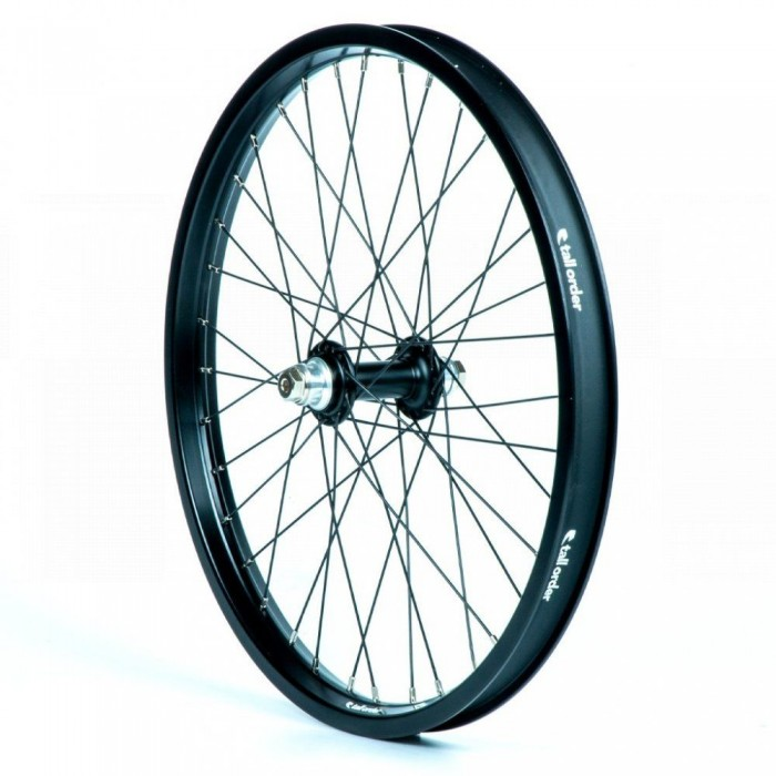 TALL ORDER DYNAMICS FRONT WHEEL BLACK/ SILVER