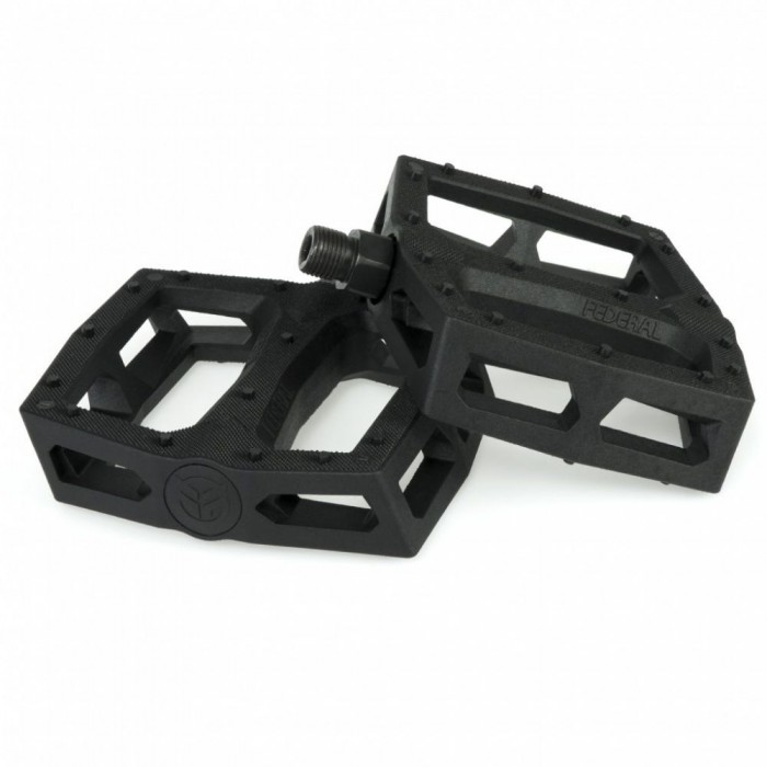 FEDERAL COMMAND PLASTIC PEDALS BLACK