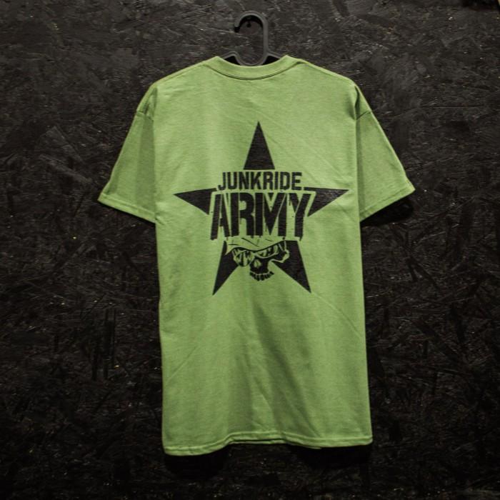 JUNKRIDE ARMY T-SHIRT GREEN