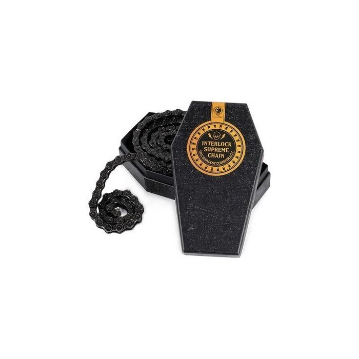 Shadow Interlock Supreme Chain BLACK