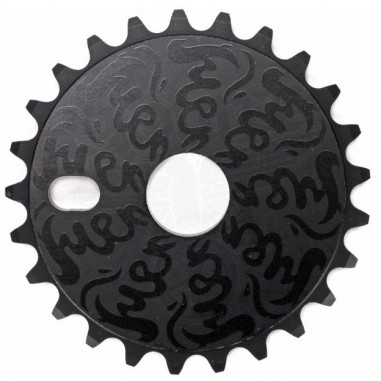 FIEND VARANYAK BOLT DRIVE SPROCKET 25T BLACK
