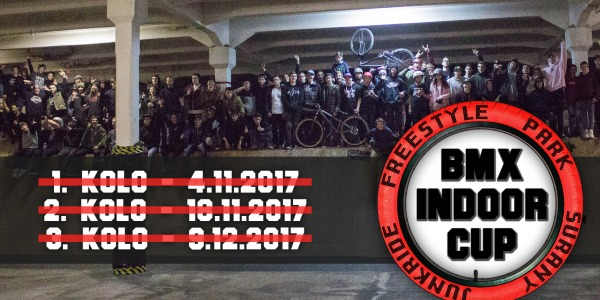 JUNKRIDE INDOOR CUP 3. KOLO / REPORT