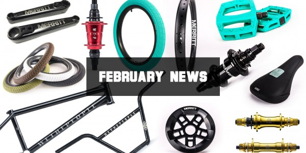 NEW PRODUCTS FEBRUARY 2018