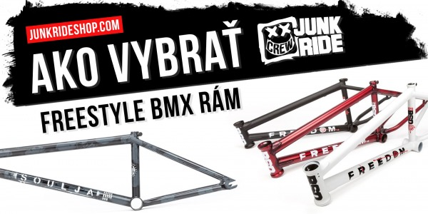 HOW TO CHOOSE FREESTYLE BMX FRAME