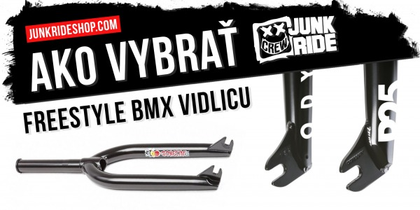 HOW TO CHOOSE A FREESTYLE BMX FORK
