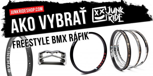 HOW TO CHOOSE FREESTYLE BMX RIM ?