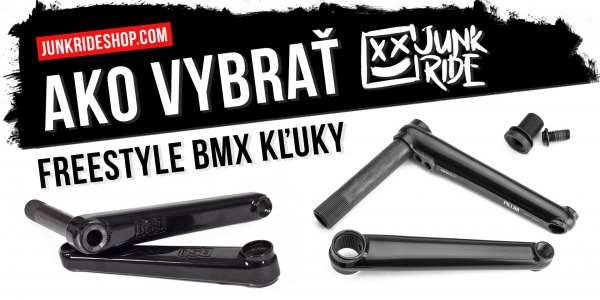 HOW TO CHOOSE FREESTYLE BMX CRANKS ?