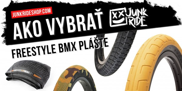 HOW TO CHOOSE FREESTYLE BMX TIRES ?
