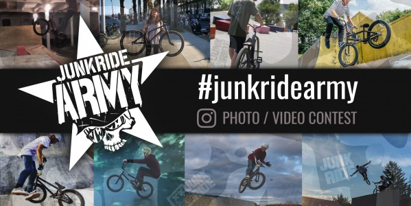 #JUNKRIDEARMY INSTAGRAM CONTEST / DECEMBER 2018