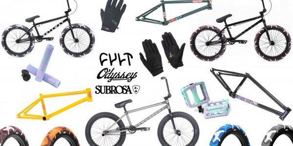 JUNKRIDE SHOP NEW PRODUCTS | OCTOBER 2019 | CULT, SUBROSA, ODYSSEY, FUSE