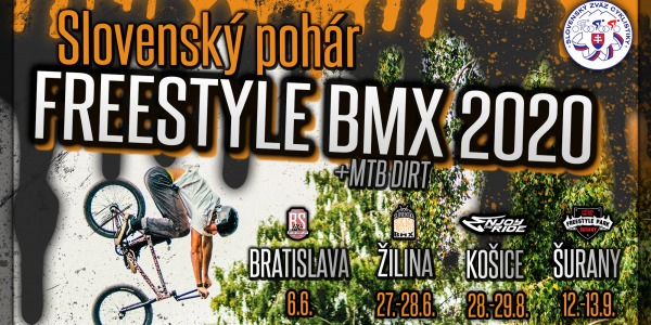 SLOVAK FREESTYLE BMX/MTB CUP 2020