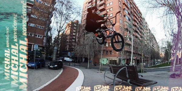 Michal Kovačovič | JUNKRIDE Crew BMX 2020 Video