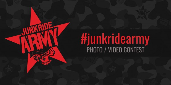 JUNKRIDEARMY PHOTO/VIDEO CONTEST MAY