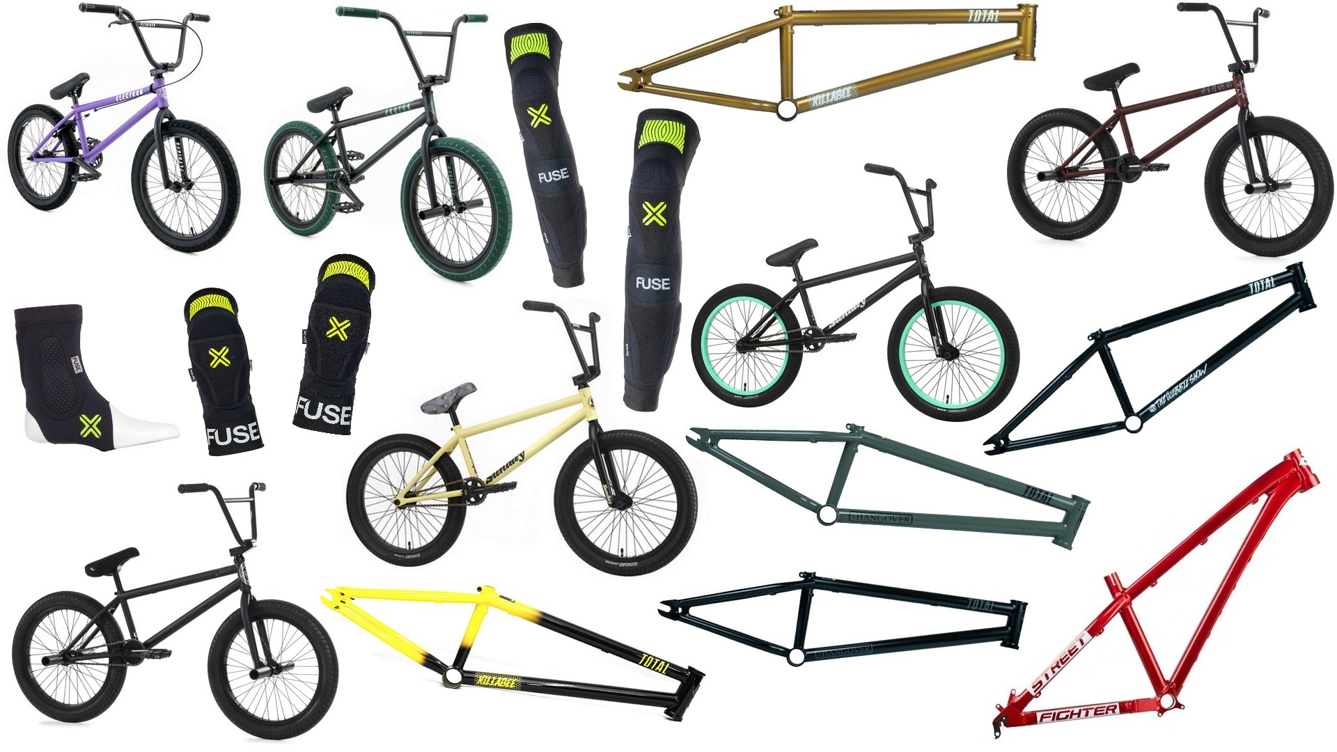JUNKRIDE SHOP NEWS | FEBRUARY 2020 | FLYBIKES, SUNDAY, TOTAL BMX, FIEND