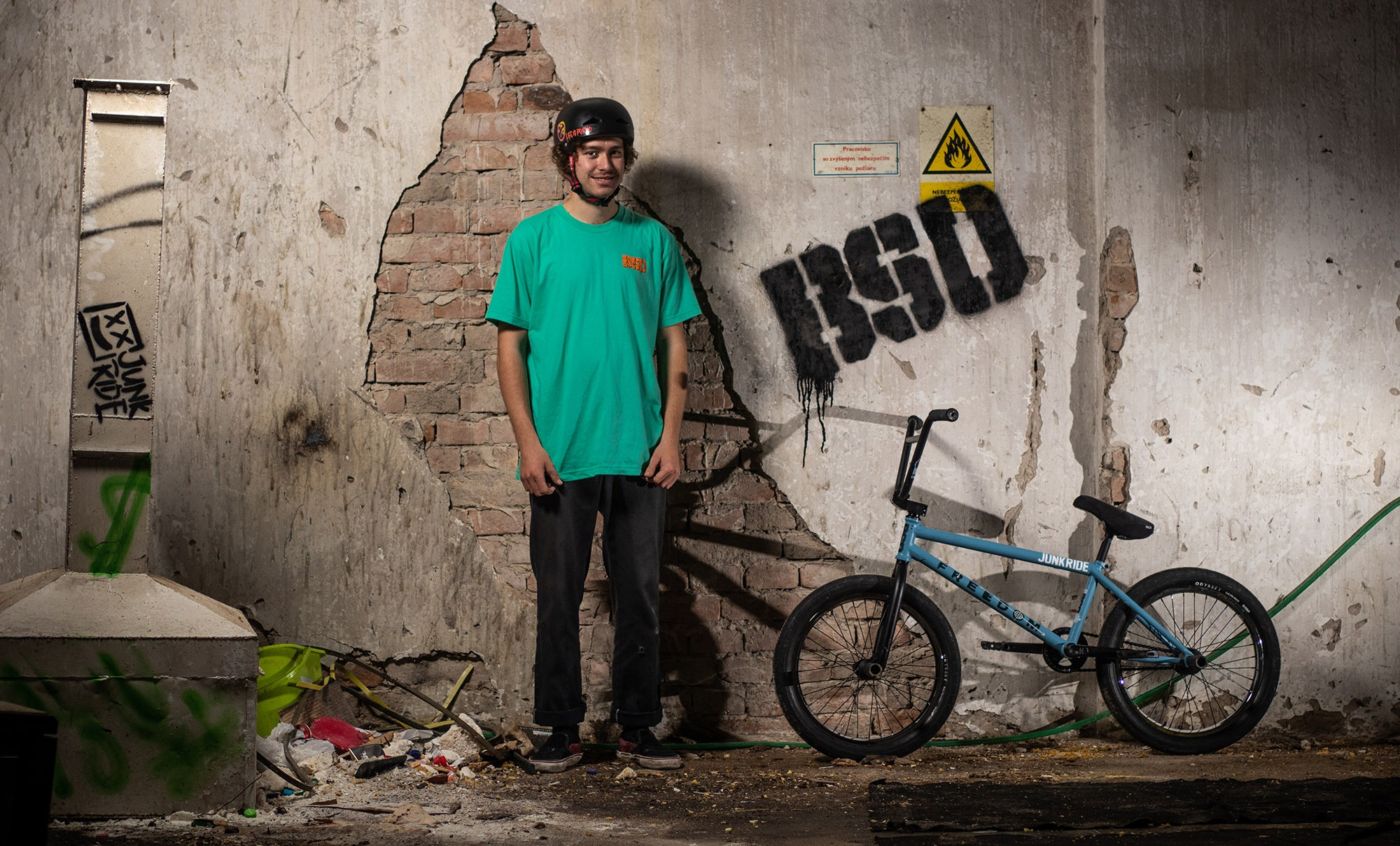 Michal Kovačovič Welcome to BSD Worldwide Team / BIKECHECK